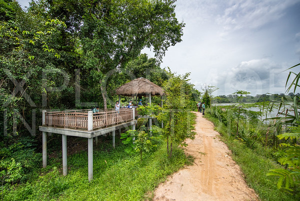 Viewpoint for Baray of Preah Khan