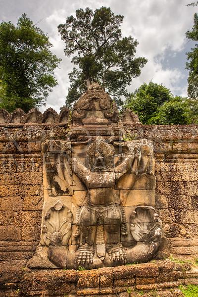 Garuda at Preah Khan Temple