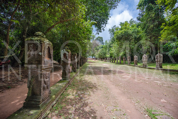 Boundary Stones at Preah Khan