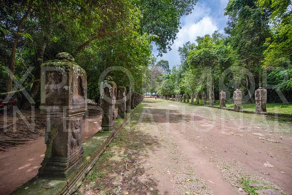 Boundary Stones at Preah Khan