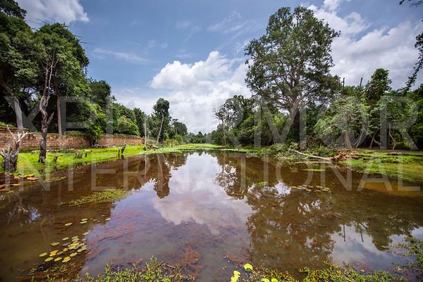 Moat at Preah Khan Temple