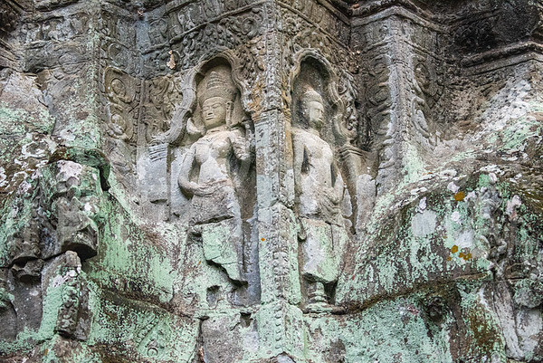 Apsara at Ta Prohm Temple
