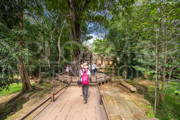 Western Walkway at Ta Prohm Temple