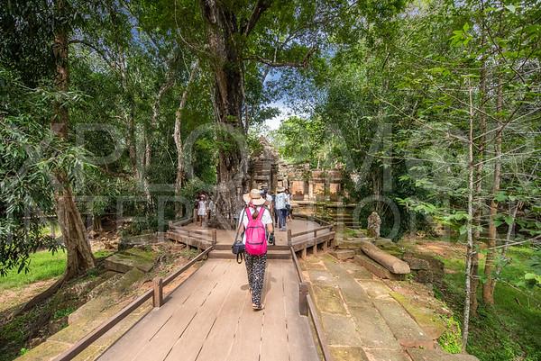 Western Walkway at Ta Prohm Temple