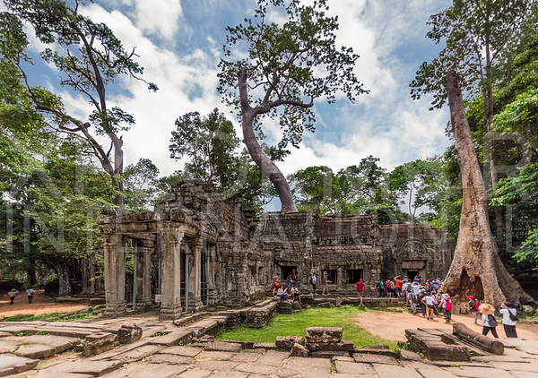 East Gopur at Ta Prohm Temple