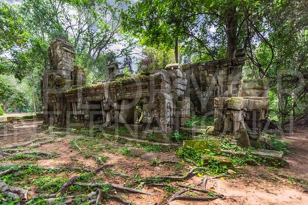 Ruins at Ta Prohm Temple
