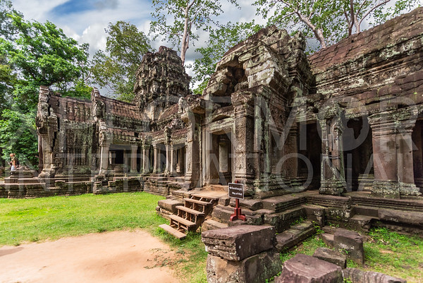 Inner Enclosure at Ta Prohm Temple