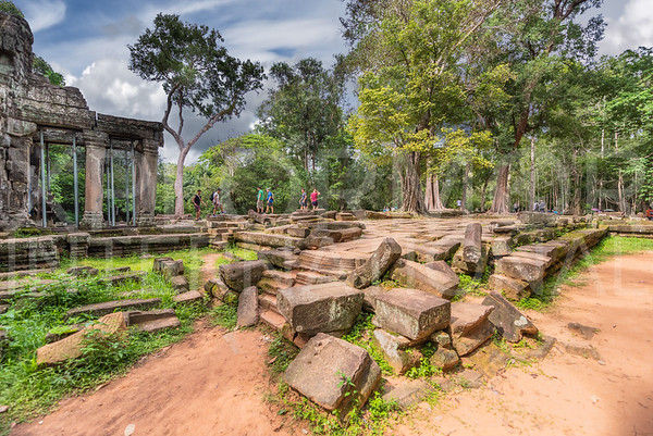 Eastern Causeway at Ta Prohm Temple