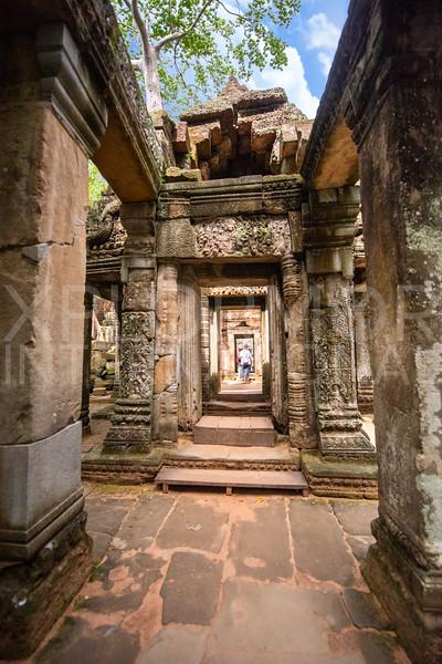 West Gate at Ta Prohm Temple