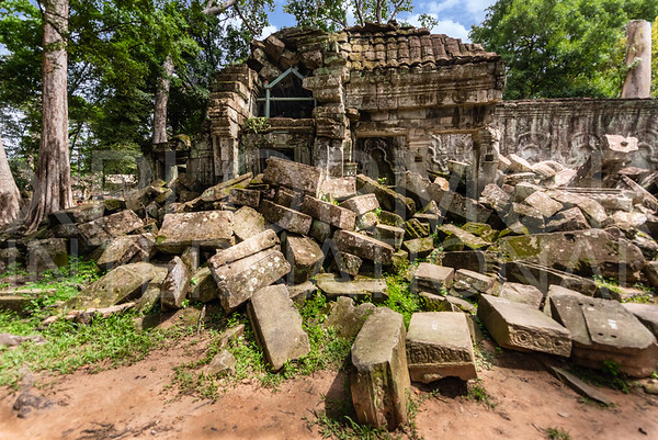 Ta Prohm Temple Ruins