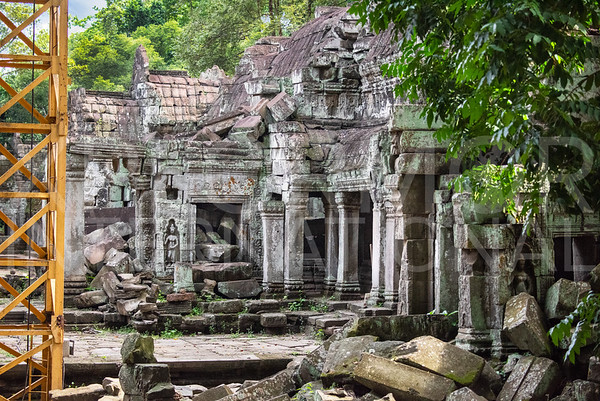 Ruins at Ta Prohm Temple