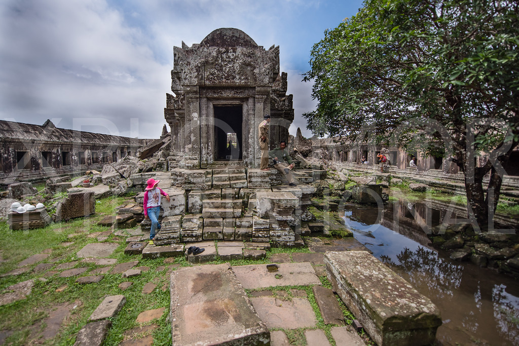 Lord of the Peak, Main Sanctuary, Gopura I, Preah Vihear, Cambodia