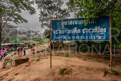 I have pride to be born as Khmer, Preah Vihear, Cambodia