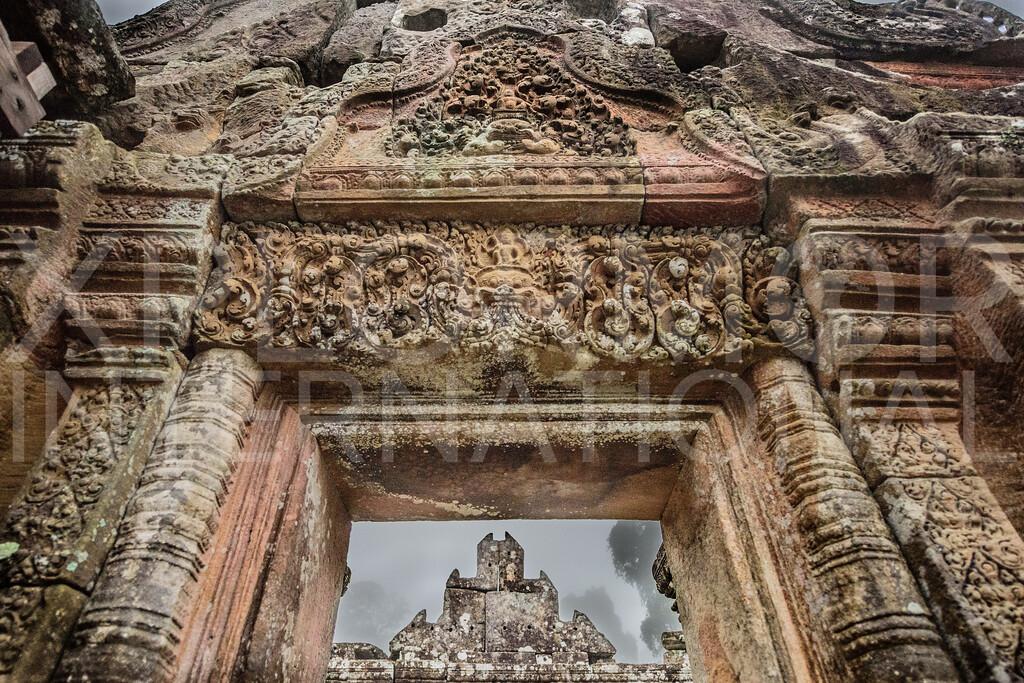 Center of Gopura IV, Preah Vihear, Cambodia