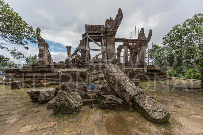 South Entrance, Gopura Five, Preah Vihear, Cambodia