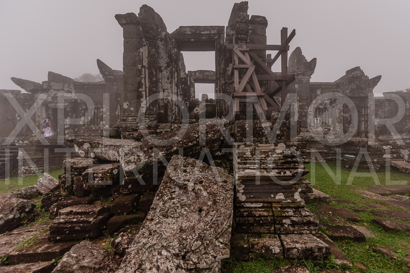 North Entrance, Gopura II, Preah Vihear, Cambodia