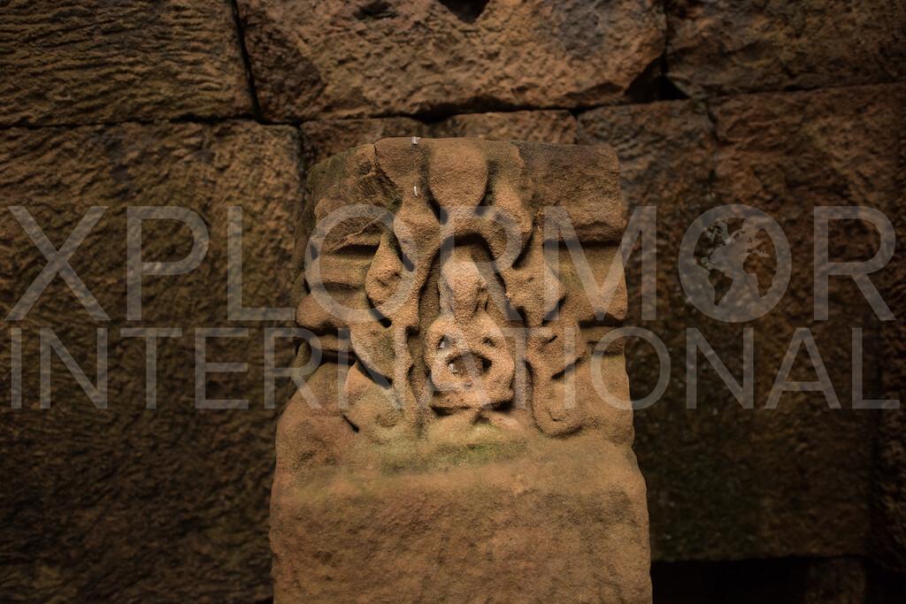 Shiva, Small Temple, Gopura II, Preah Vihear, Cambodia