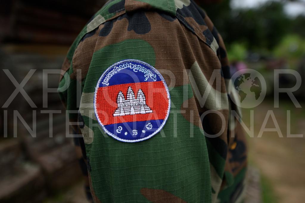 Soldier Uniform, Preah Vihear, Cambodia