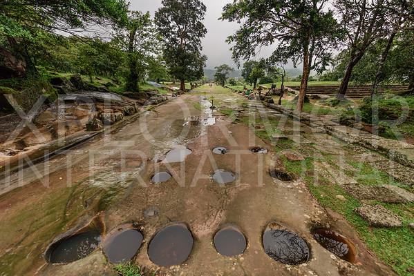 Sacred Path, Preah Thnal, Preah Vihear, Cambodia