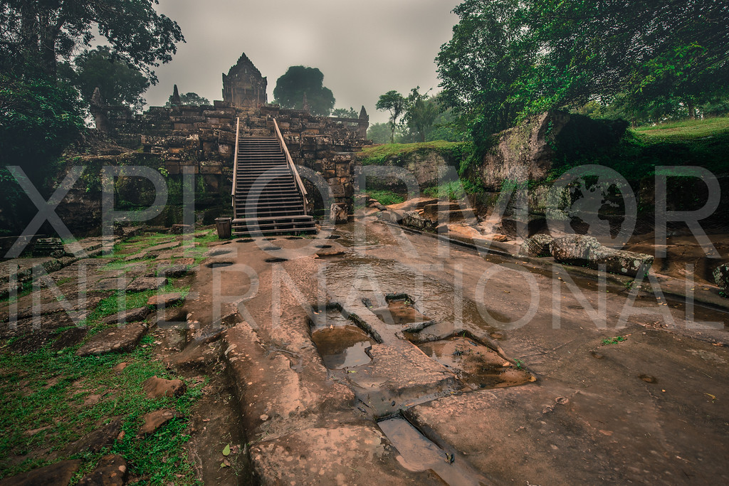 North Entrance, Gopura IV, Preah Vihear, Cambodia