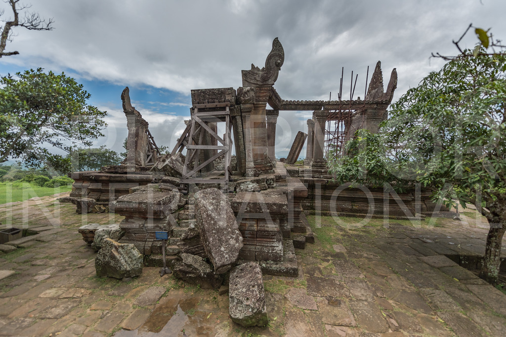 South Entrance, Gopura Five, Preah Vihear, Cambodia
