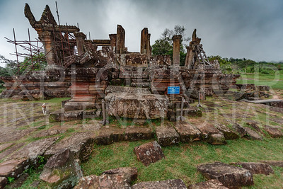 North Entrance, Gopura V, Preah Vihear, Cambodia