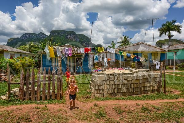 Laundry Day in Cuba