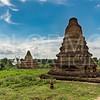 Brick and Painted Stupas at Hanlin
