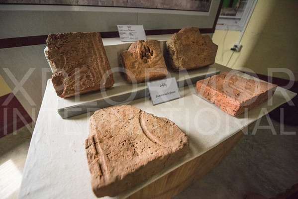 Carved Rock Shards Unearthed at Pyu Ancient City - Hanlin