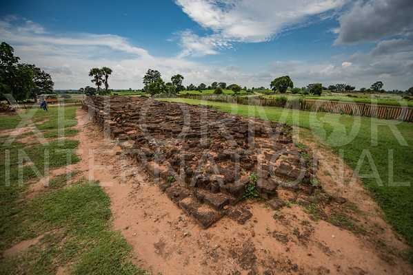 Remains of the Ancient Brick Walled City
