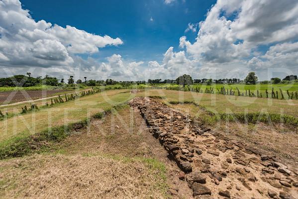 Remains of the Ancient Brick Walled City VI