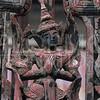 Wonderful Burmese Prayer Figure in Carved Wood