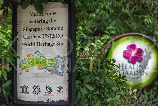 UNESCO World Heritage Sign