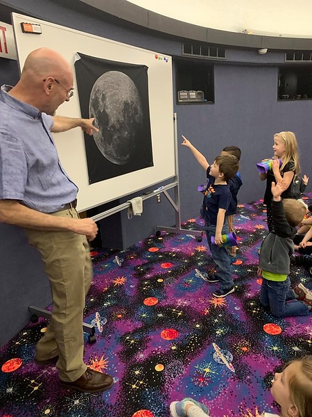 2019 Apollo Moon Landing Event at Edinboro University Planetarium, Edinboro, PA