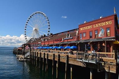 Miner's Landing & Great Wheel | Seattle, WA