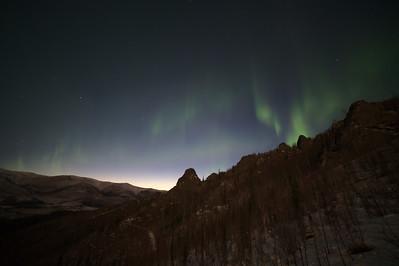 Dissolving aurora