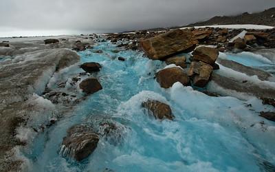 Rocky Glacier Stream