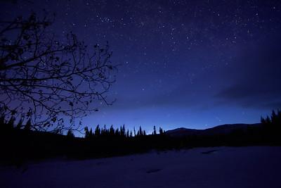 Night Sky over the Chena