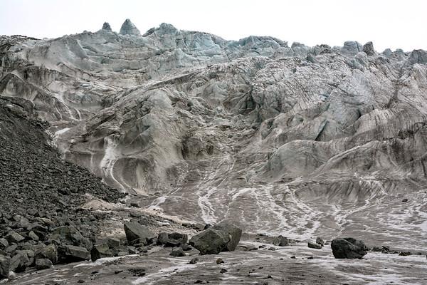 On the Gabriel Icefall - Gulkana Glacier
