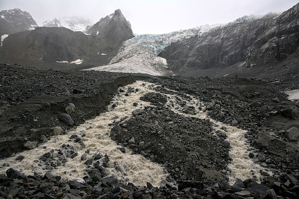 Outflow from the Gabriel Icefall