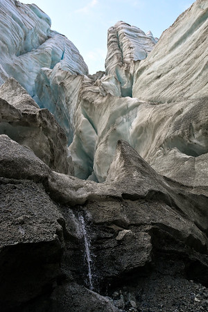 Waterfall in the Icefall