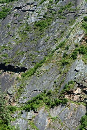 Keystone Canyon Wall