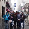 This is the group that explored Times Square with Lysa and me--including a stop to the Birdman filming location at Times Square, NYC.  Kenzie, Allison, Joe, Zoe, Anthony, Tim and Jonathan