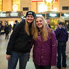 Emily and Megan at Grand Central Station, NYC