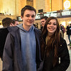 Tim and Zoe at Grand Central Station, NYC