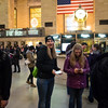 Emily at Grand Central Station, NYC