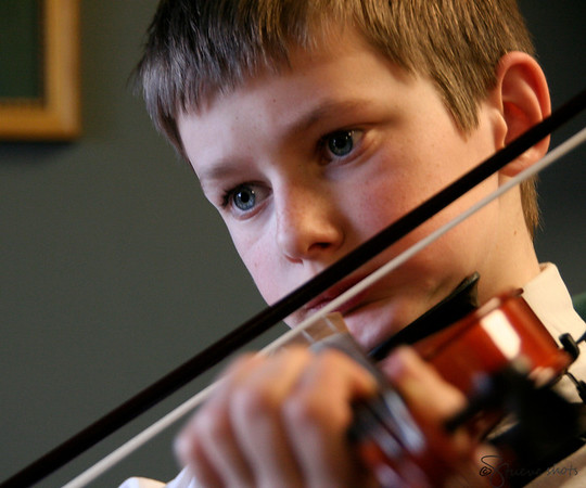 A Boy and His Fiddle