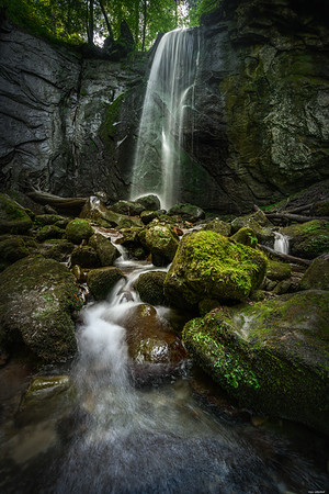 Finstersee waterfall #3