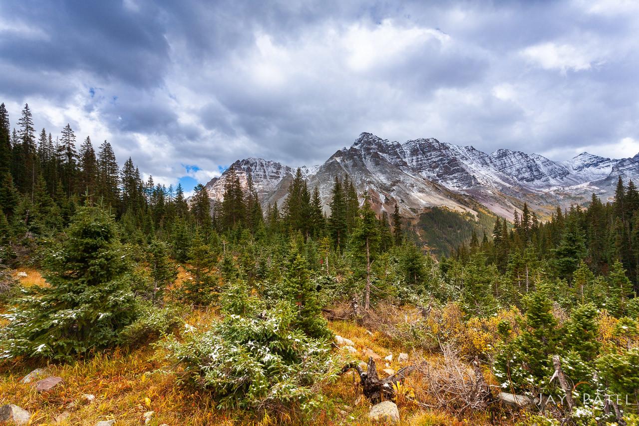Maroon Bells, Snowmass Wilderness, Colorado (CO), USA