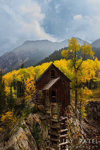 Crystal Mill, Colorado (CO), USA